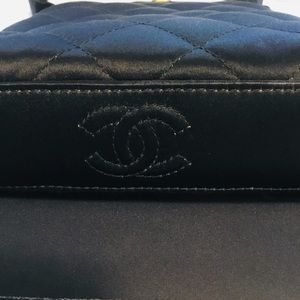 CHANEL Bags - Elegant Chanel black evening bag.